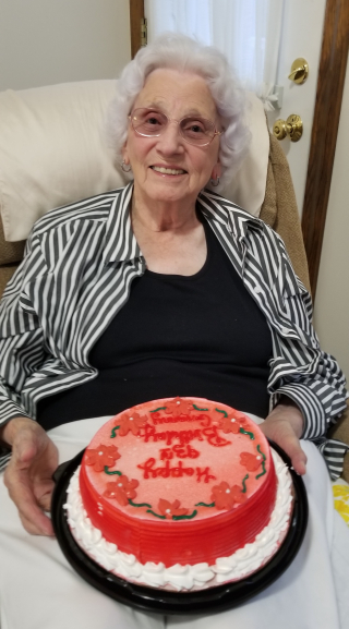 Great Granny on her 93rd birthday!