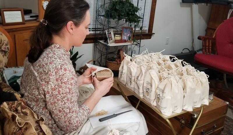 Hannah packaging soaps
